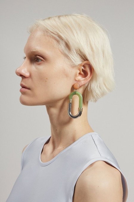 Rachel Comey Dial Earrings