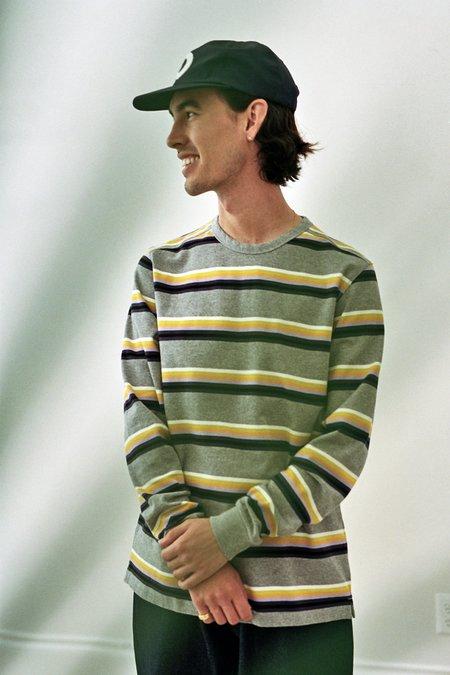 Pop Trading Company Striped Longsleeve - Multicolor