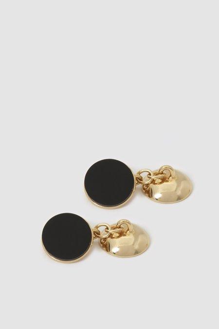 Codis Maya X FSC Cufflinks - Gold/Onyx