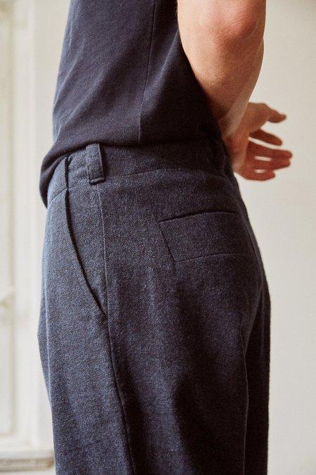 Frisur Jostha flannel trousers - eco forest