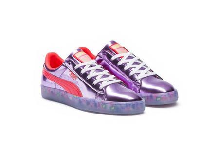 Puma x Sophia Webster Basket Sneakers - Candy Princess