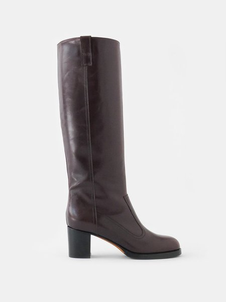 maryam nassir zadeh norfolk boot - mahogany
