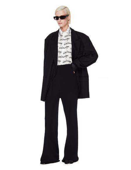 Vetements Wool Oversize Jacket - Black