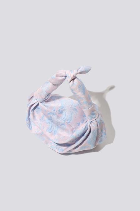 NST STUDIO Jacquard Knot Bag - Pink