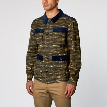 Men's Wolf & Man Darius Shirt
