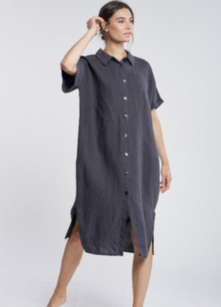 Filosofia Alexa Shirt Dress - Ink