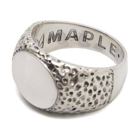Maple Nugget Ring - Silver