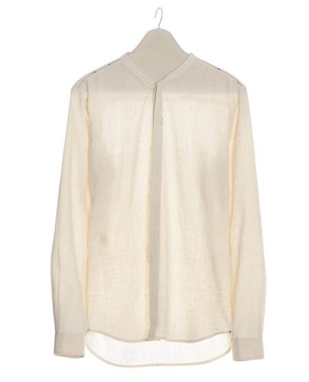 11.11 Lean Woven Shirt - Ecru