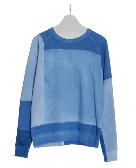 11.11 Psh Sweatshirt - Shades of Indigo