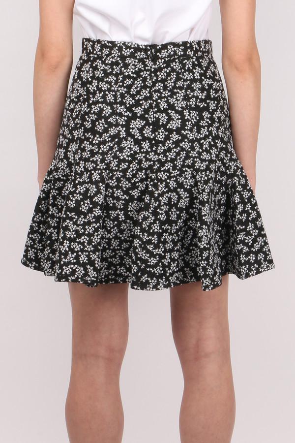 Carven Printed Jacquard Skirt