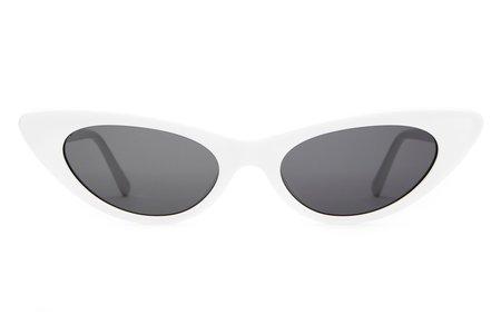 CRAP EYEWEAR The Ultra Jungle Sunglasses - White