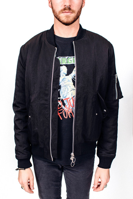 Men's Soulland Thomasson Bomber Jacket