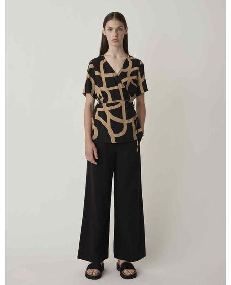 JUST FEMALE Cenia Trousers - Black