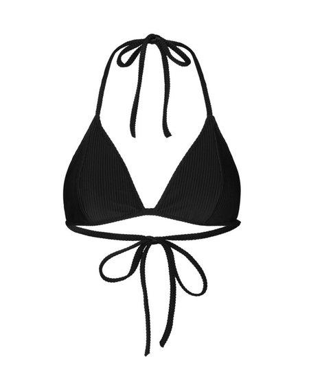 JUST FEMALE Isabella Bikini Top - Black