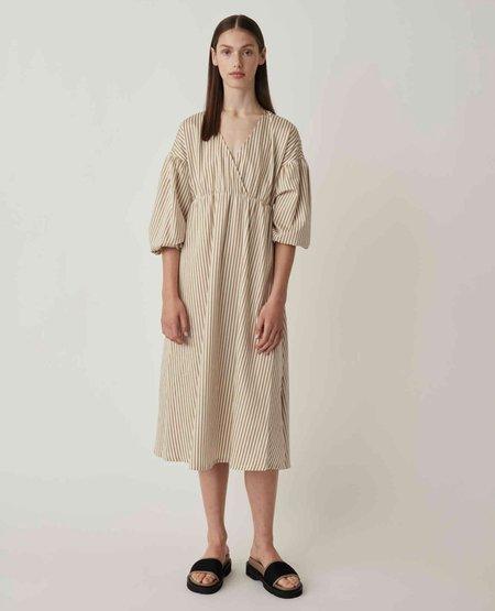 JUST FEMALE Paxton Dress - Kelp Stripe