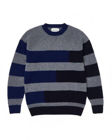 Country of Origin Stepped Crew sweater - Grey
