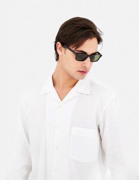 RetroSuperFuture Regola Sunglasses - Havana/Green Lenses