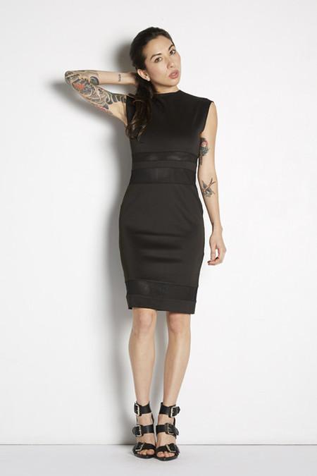 Mock Turtleneck Bodycon Dress