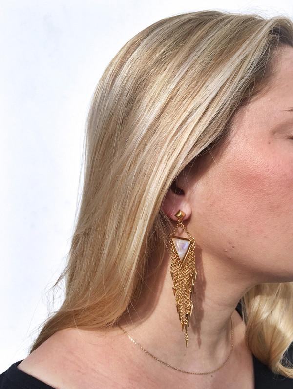 A Peace Treaty Laiyla Moonstone Earrings