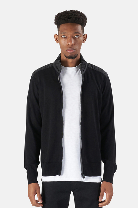 Belstaff Kelby Zip Cardigan Sweater - Black
