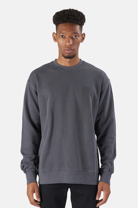 Stampd Perfect Crew F*** Off Drag Sweater - Steel Grey