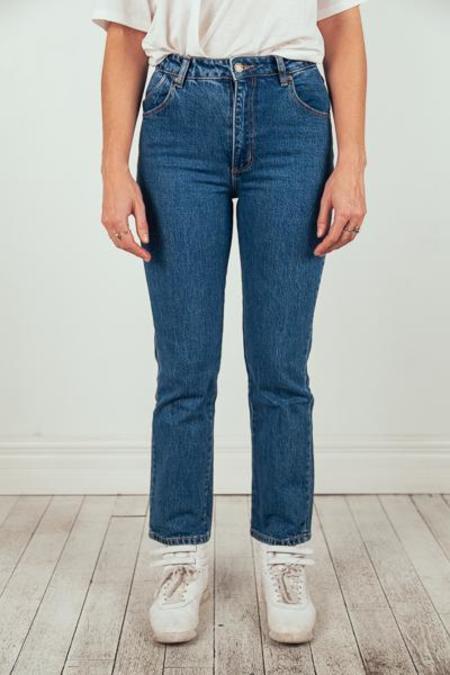 Rollas Original Straight Jean - Sadie Blue