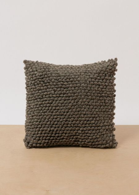 Territory Nube Pillow - Charcoal