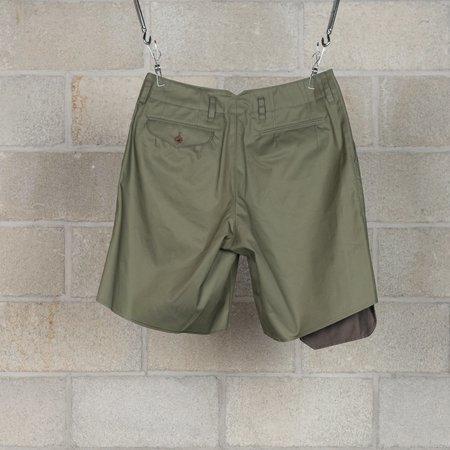 kolor / BEACON Shorts - Olive