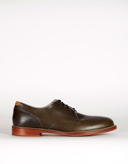 J Shoes William Derby Black