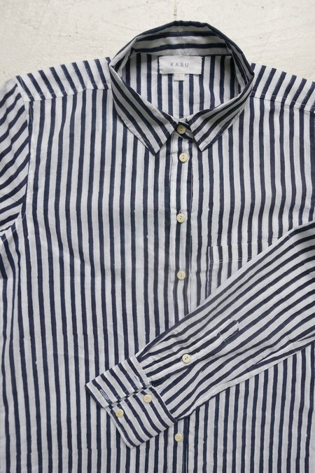 Karu Simple Striped Shirt