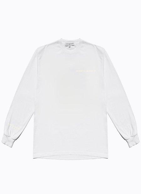 Noble Gentlemen Trading Co. Team Long Sleeve Tee - White/Tonal