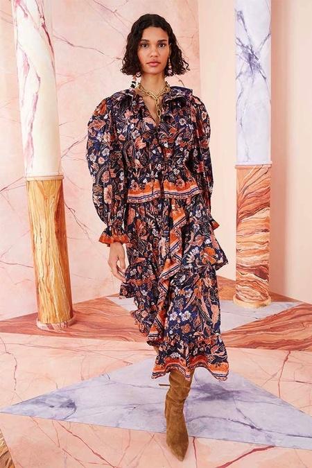 Ulla Johnson Sanna Skirt - Midnight Floral