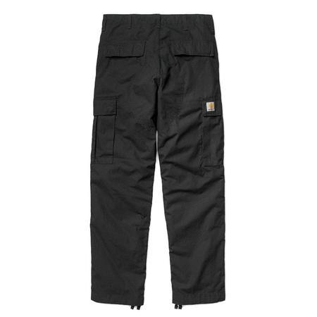 CARHARTT WIP Regular Cargo Pant - Black Rinsed