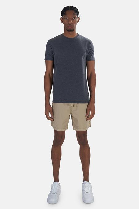 Kinetix x Blue&Cream Basic Burnout T-Shirt - Charcoal