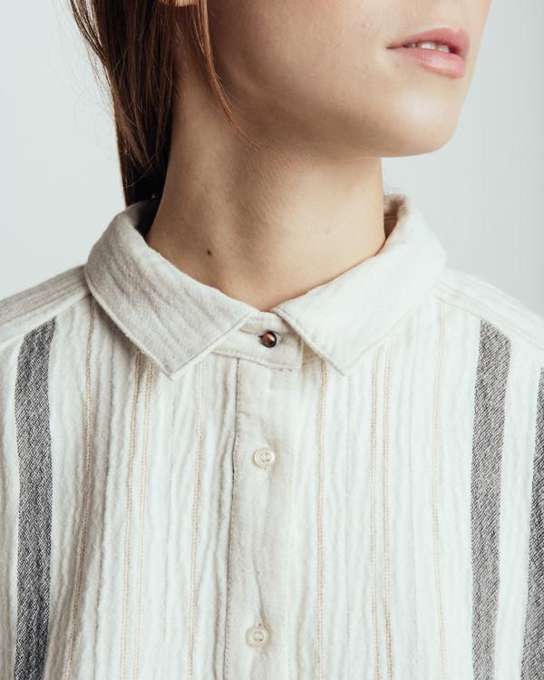 Sessun Santiago Candelaria Striped Shirt