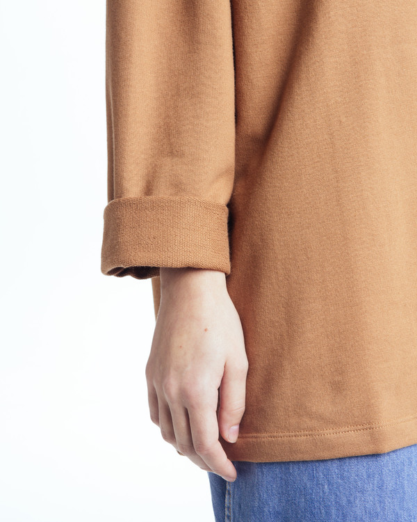 Revisited Matters Sweatshirt sweater in Clay