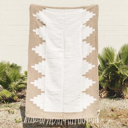Petra De Luna Chinanteco Blanket - Oat