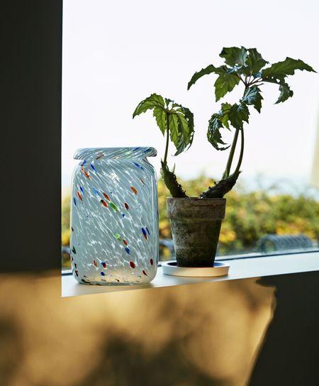 Hay Medium Splash Vase - GLASS