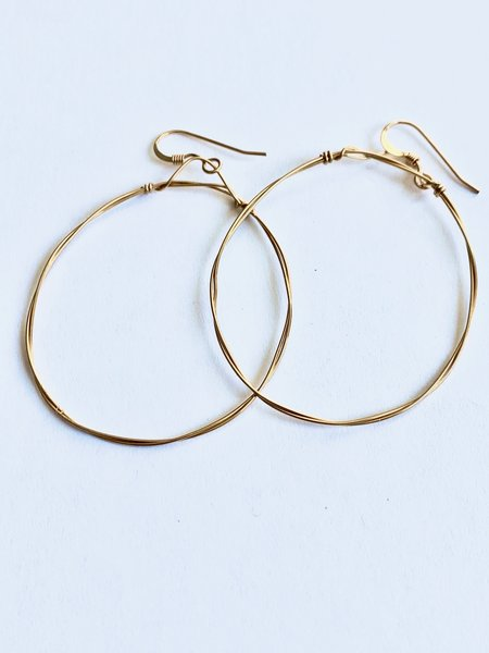 Emma Rose Designs Small Round Hoops - Gold Filled Wire