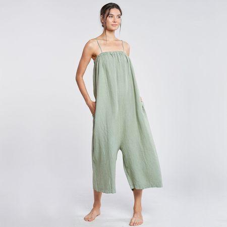 Filosofia Leah Jumpsuit - Dusty Olive