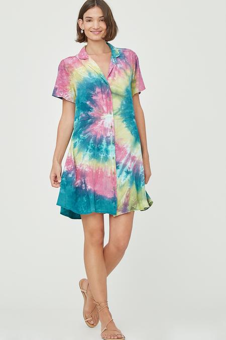 Lacausa Quinn Dress - Cosmic Swirl