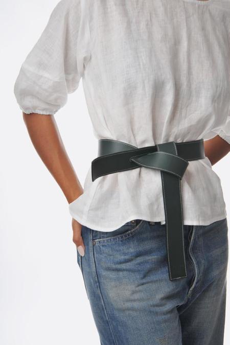 Phi 1.618 Reversible Belt - Black/Dark Green