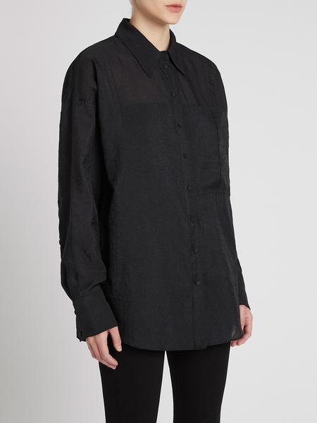 Camilla and Marc Lona Shirt - Black