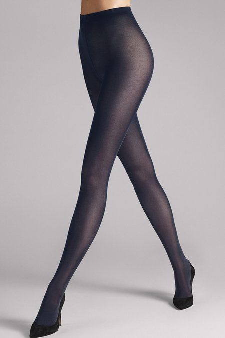 Wolford Satin Opaque 50 Tights - Admiral