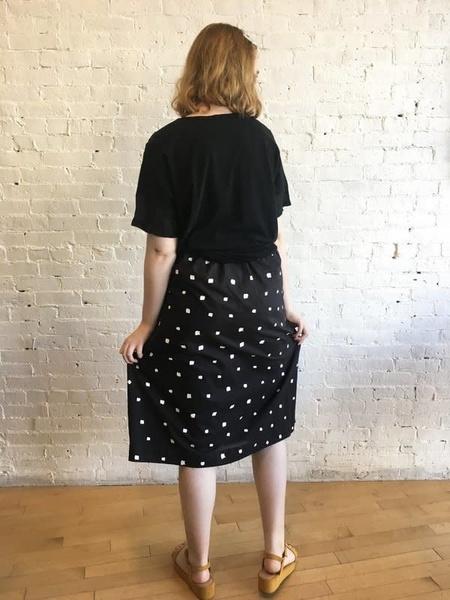 Yoshi Kondo Gazelle Skirt - Black
