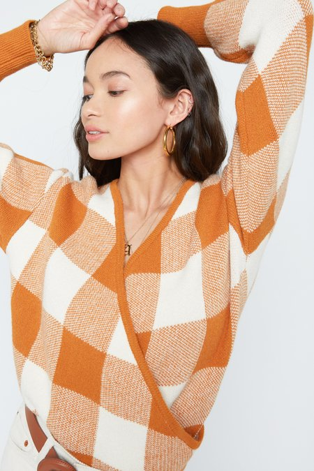 Preshop Agnes Wrap Sweater