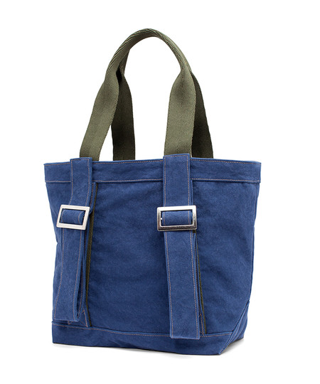 Woolrich x Almond Tote bag - blue