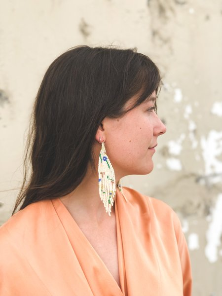 Salihah Moore Earrings - 14kt gold fill/Morningbloom