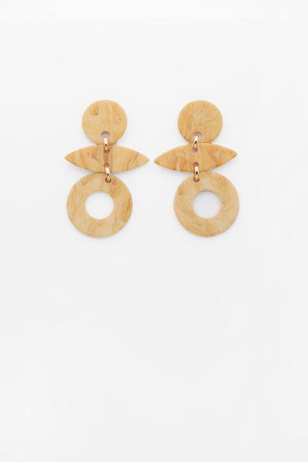 Valet Studio Evie Earrings - Cream