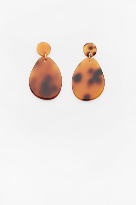 Valet Studio Pandora Earrings - Tortoise